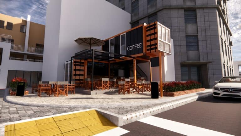 Coffe shop and food